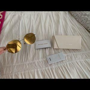 Michael Kors Accessories - Michael Kors Gold Lon 1021 Sunglasses never worn